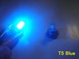 LED palubná doska Neo Wedge T5 modrá
