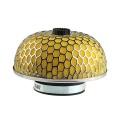Športový filter univerzálny huba 76mm žltý