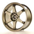 Alu koleso Japan Racing JR3 18x10 ET25 5x112 / 114,3 Bronze