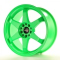 Alu koleso Japan Racing JR3 18x8 ET30 5x114 / 120 Neon Green