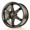 Alu koleso Japan Racing JR3 18x8 ET40 5x100 / 108 Matt Black