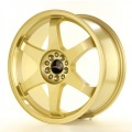 Alu koleso Japan Racing JR3 18x8 ET40 5x112 / 114 Gold