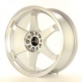 Alu koleso Japan Racing JR3 18x8 ET40 5x112 / 114 Matt Silver MACHINED