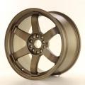 Alu koleso Japan Racing JR3 18x9,5 ET15 5x114,3 / 120 Dark Anodized Bronze