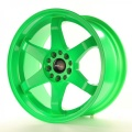 Alu koleso Japan Racing JR3 18x9 ET15 5x114 / 120 Neon Green