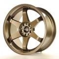 Alu koleso Japan Racing JR3 18x9 ET20 4x108 / 114 Bronze