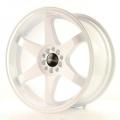 Alu koleso Japan Racing JR3 18x9 ET20 4x108 / 114 White