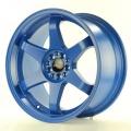 Alu koleso Japan Racing JR3 18x9 ET40 5x100 / 108 Blue