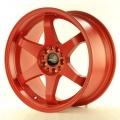 Alu koleso Japan Racing JR3 18x9 ET40 5x100 / 108 Mat Bloody Red