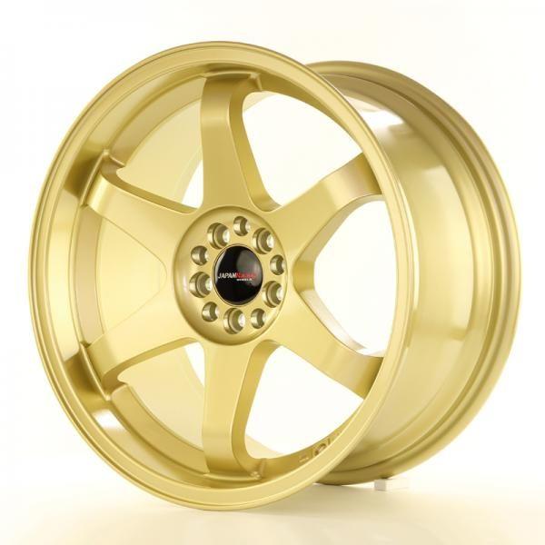 Alu koleso Japan Racing JR3 18x9 ET40 5x112 / 114 Gold