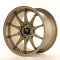 Alu koleso Japan Racing JR5 17x9,5 ET25 4x100 / 114,3 Dark Anodized Bronze