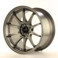 Alu koleso Japan Racing JR5 17x9,5 ET25 4x100 / 114,3 Matt Gun Metal