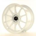 Alu koleso Japan Racing JR5 17x9,5 ET25 5x100 / 114,3 White