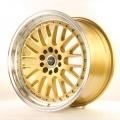 Alu koleso Japan Racing JR10 19x8,5 ET35 5x100 / 120 Gold