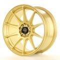 Alu koleso Japan Racing JR11 17x8,25 ET35 5x100 / 114,3 Gold