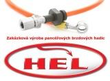 !Brzdové hadice Hel Performance zakázkové - 4 kusy
