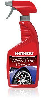 Mothers Foaming Wheel & Tire Cleaner - silný čistič diskov a pneu, 710 ml