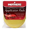 Mothers Microfiber Applicator Pads - jemné mikrovláknové aplikátory 2 ks, priemer 12,5 cm