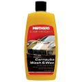 Mothers California Gold Carnauba Wash & Wax - luxusné hustý autošampón s karnaubským voskom, 473 ml