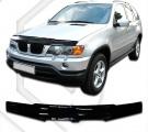 Plexi lišta prednej kapoty BMW X5 E53 1999-2004