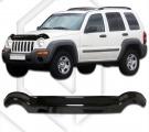 Plexi lišta prednej kapoty JEEP Jeep Cherokee 2001-2008
