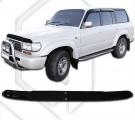 Plexi lišta prednej kapoty TOYOTA Land Cruiser 80 1989-1998