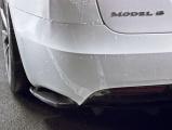 Bočné spojler pod zadný nárazník Tesla Model S Facelift 2016-