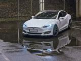 Nástavce prahov Tesla Model S Facelift 2016-