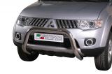 Nerezový přední ochranný rám Mitsubishi L200 Club Cab 2010-2015