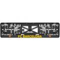 Podložka pod ŠPZ 3D FC Barcelona