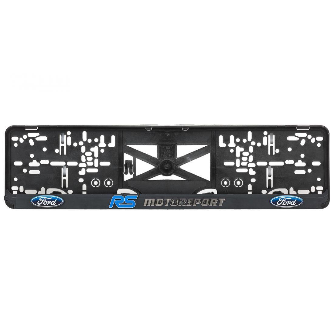 Podložka pod ŠPZ 3D FORD RS Motorsport