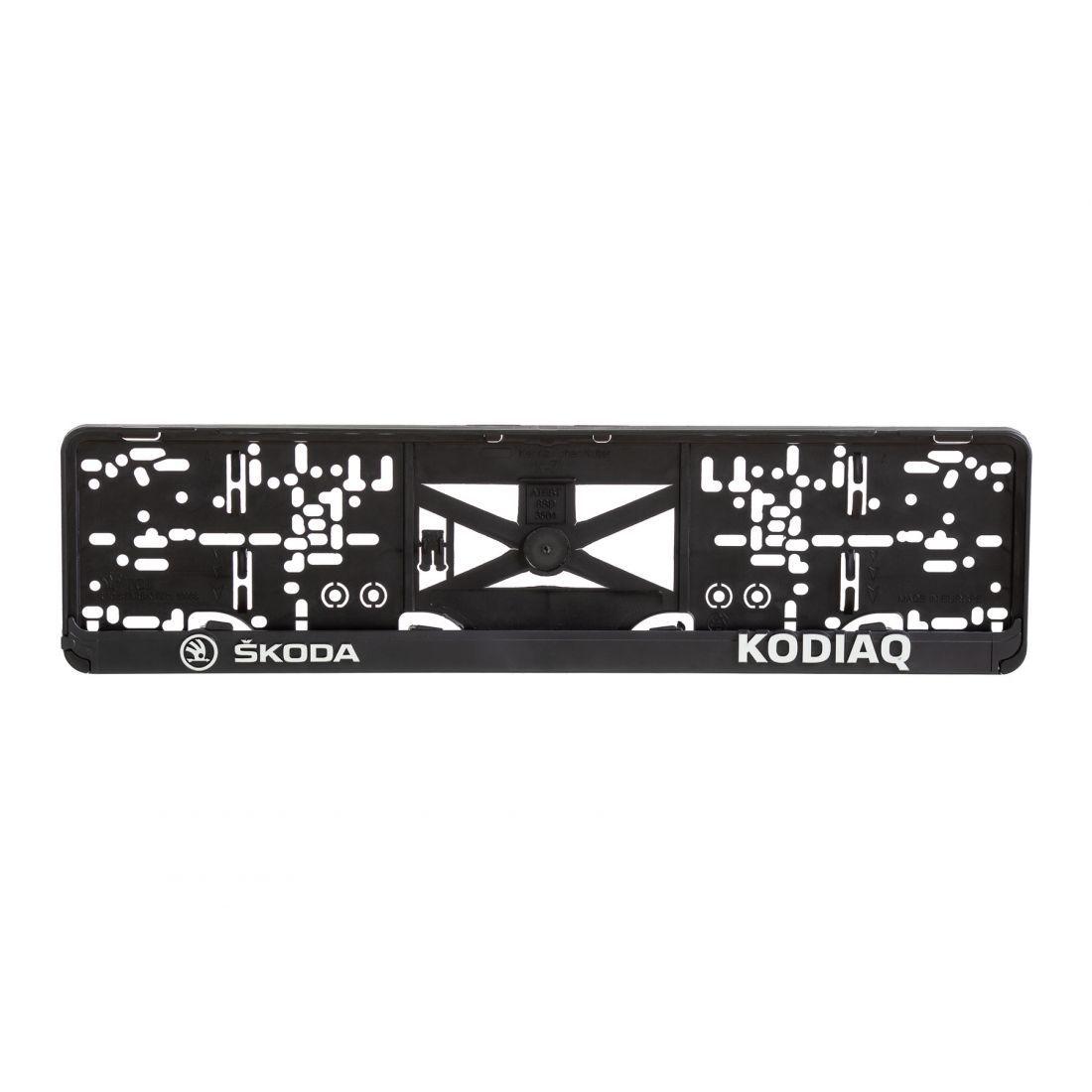 Podložka pod ŠPZ 3D Škoda Kodiaq