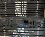 Podložka pod ŠPZ 3D Powered by BMW Motorsport