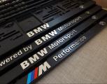Podložka pod ŠPZ 3D BMW E30