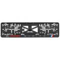 Podložka pod ŠPZ 3D Citroen Racing