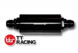 Benzínový filter TT Racing univerzálne D-06 (AN6) s držiakom