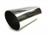 Koncovka výfuku guľatá skosená - priemer 85mm