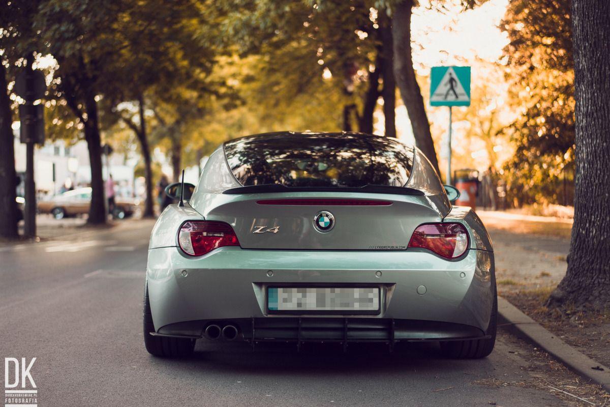 Středový spoiler pod zadní nárazník BMW Z4 COUPE E86 (2005-2009) Maxtondesign