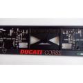 Podložka pod ŠPZ 3D Ducati