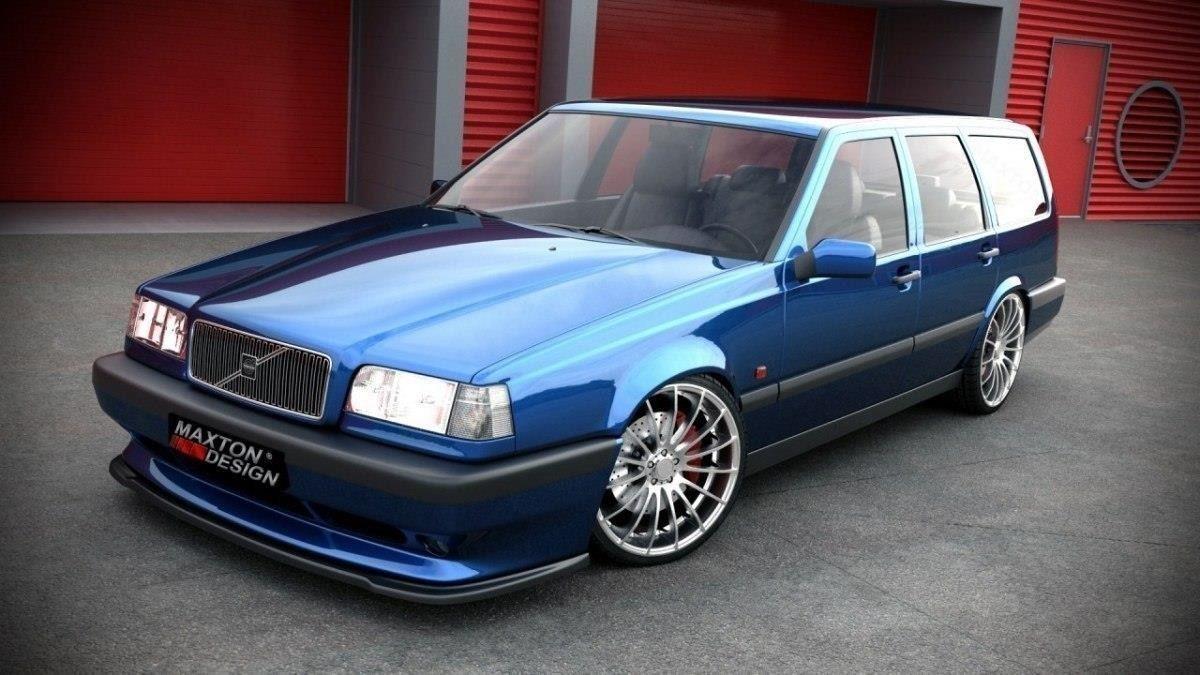 Spoiler pod predný nárazník Volvo 850 R 1991 - 1996 Maxtondesign