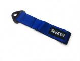 Textilní tažné oko SPARCO - modré