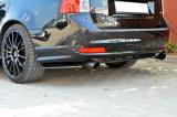 Bočné spojler pod zadný nárazník Volvo V50 R-Design Facelift 2007- 2012 Maxtondesign