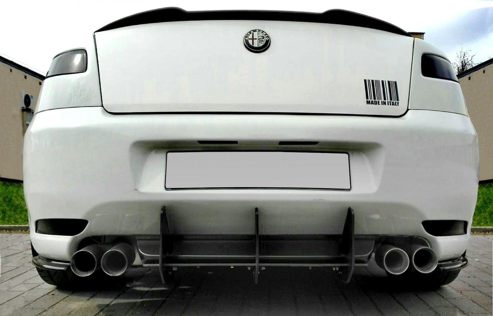 Stredový spojler pod zadný nárazník ALFA ROMEO GT 2004- 2010 Maxtondesign