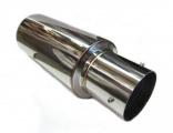 Koncový tlmič výfuku ProRacing MP01 - nerez - 63,5 mm