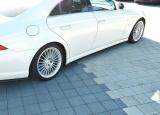 Nástavce prahov Mercedes CLS C219 55AMG 2004- 2006 Maxtondesign