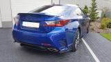 Bočné spojler pod zadný nárazník Lexus RC 2014-