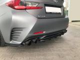Stredový spojler pod zadný nárazník Lexus RC 2014-