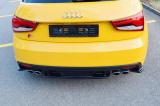 Stredový spojler pod zadný nárazník Audi S1 8X 2014-2018