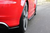 Bočné spojler pod zadný nárazník Audi RS3 8P  2011- 2012