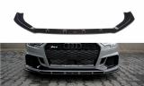 Spoiler pod predný nárazník AUDI RS3 8V FACELIFT SEDAN 2017-